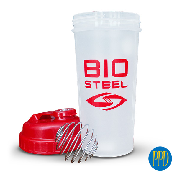 shaker cup with steel mixer ball for New York and New Jersey business marketers