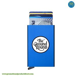 secrid-card-protector-blue RFID blocking credit card holder for business to business marketing in New York and New Jersey.