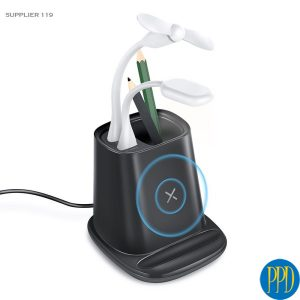 Get your logo on a desktop mobile phone charger