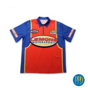 auto racing stock car shirt for New York and New Jersey business marketers that use promotional products.